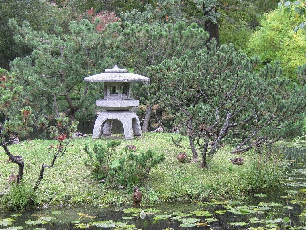 Сентябрь в Японском саду - Маера Урусова