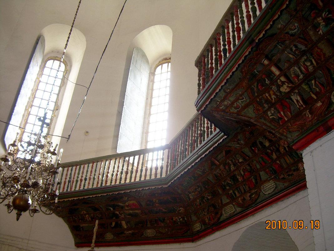 Конструкция и роспись хоров собора - Надежда