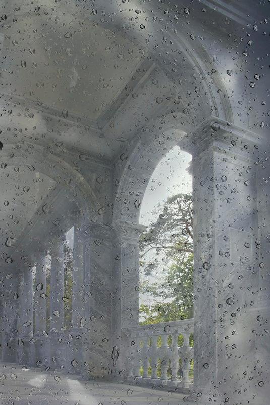 Набросок в каплях дождевых..... - Tatiana Markova