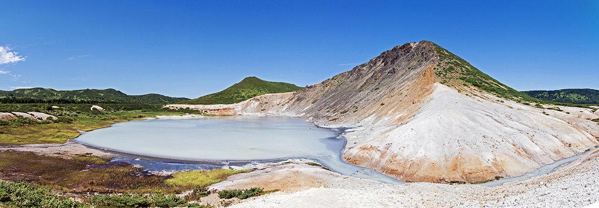 Озеро Кипящее, о. Кунашир, Курильские острова - Сергей Козинцев