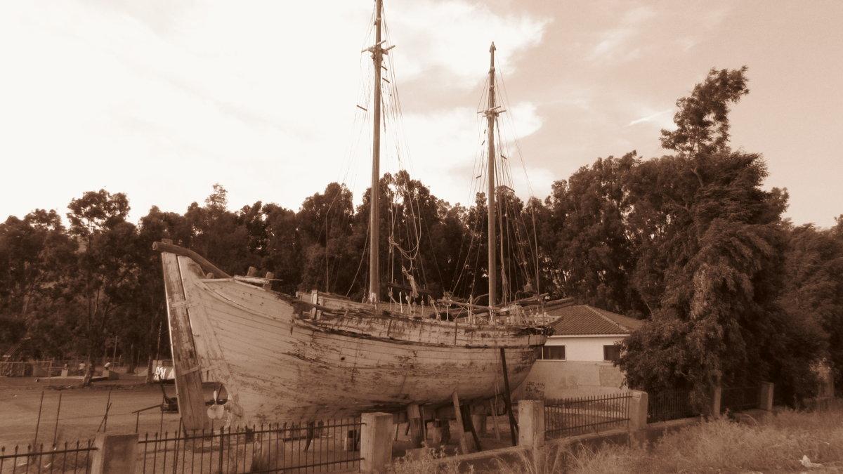 Старый корабль уже не на ходу - Елена Милая