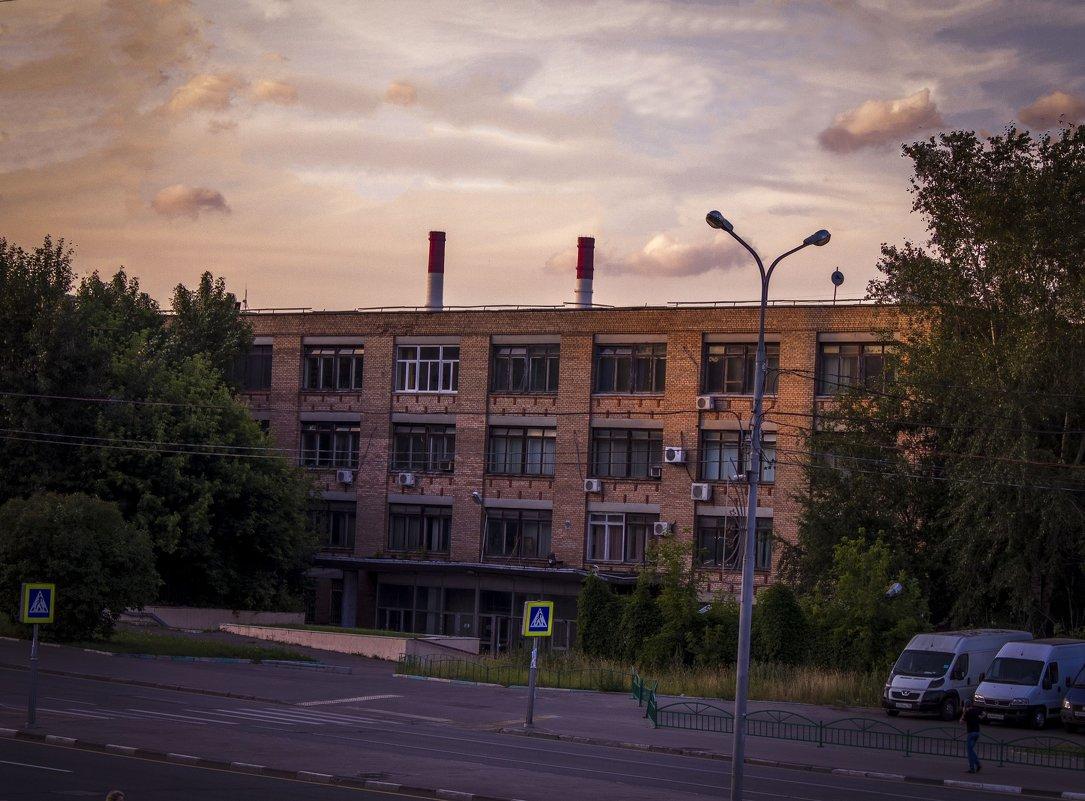 Городской пейзаж - Сергей Францев