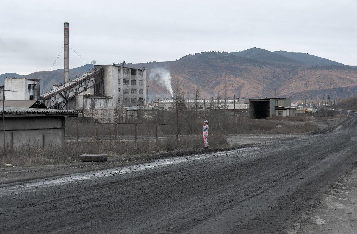 Индустриальный пейзаж... - Ирина Токарева