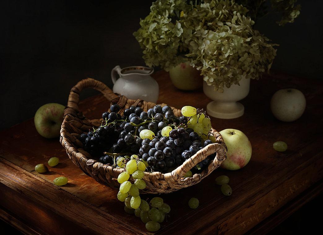 Этюд с виноградом - Татьяна Карачкова
