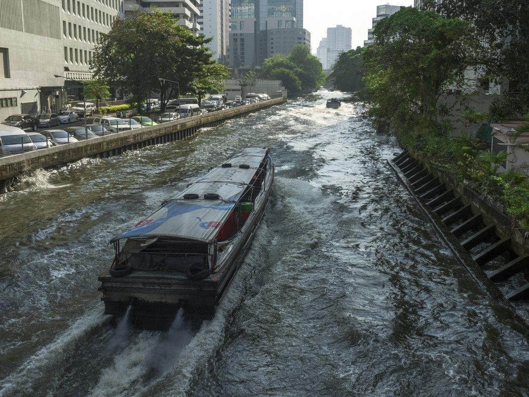 Таиланд. Бангкок. Канал - Владимир Шибинский