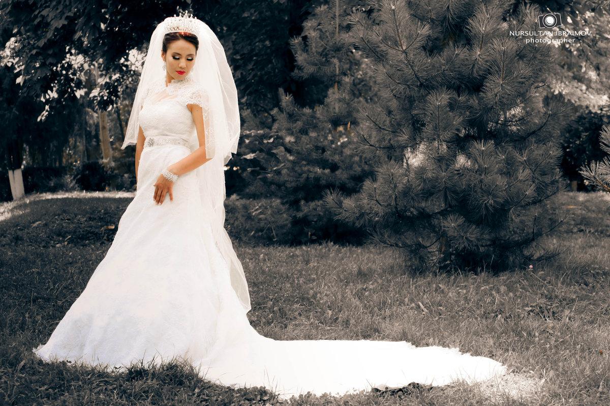 невеста - Hурсултан Ибраимов фотограф