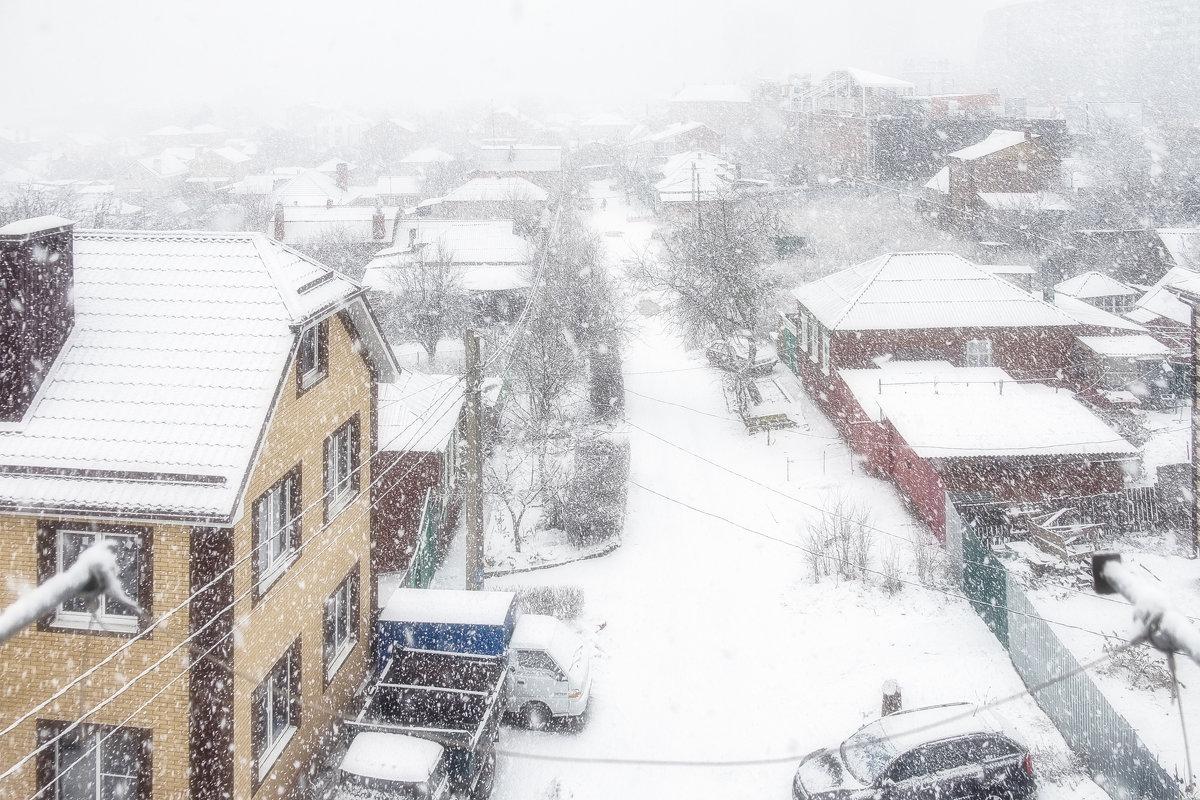 Снегопад - Александр Гапоненко