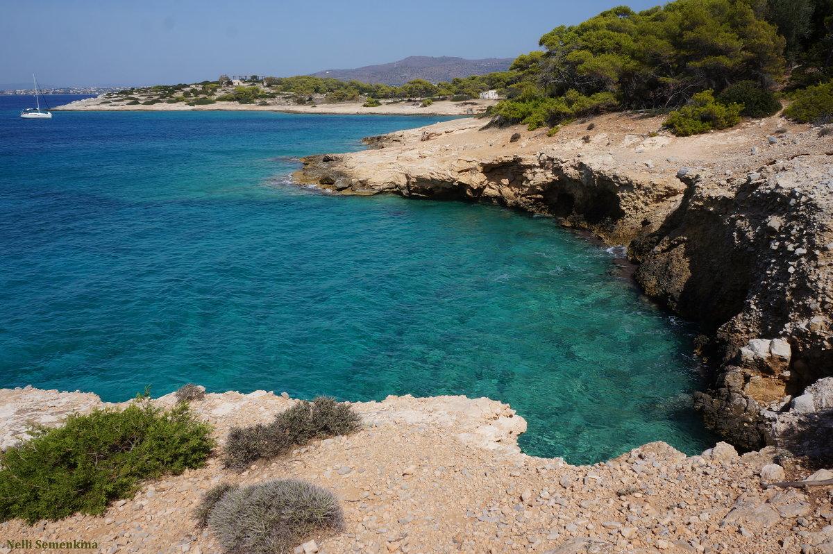 Необитаемый остров Мони (Греция). - Нелли Семенкина