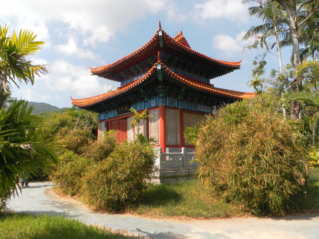 Китай, о хайнань, центр буддизма наньшаньсы санья, китай