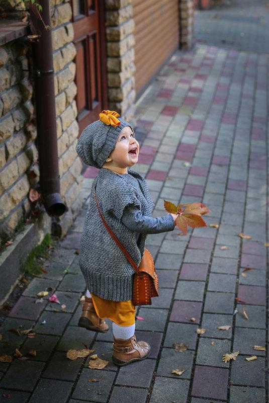 Осення прогулка - Женечка Зяленая
