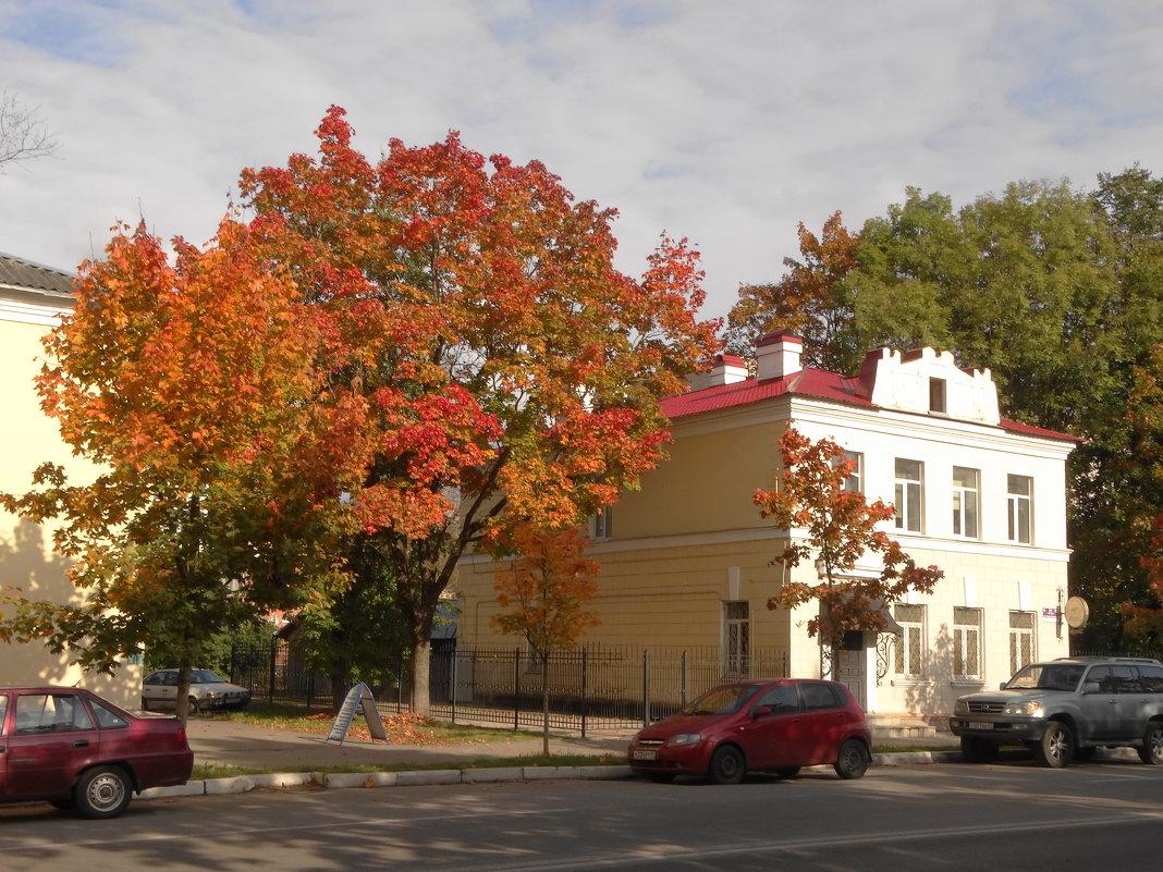 осень в городе - Михаил Жуковский