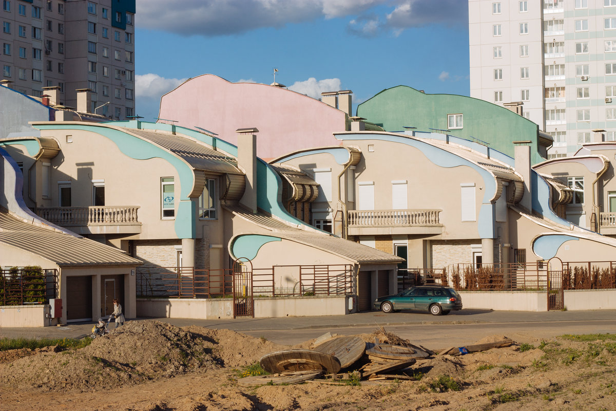 Архитектура в городе - Никола Н