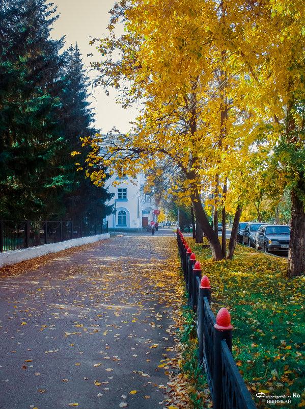 Осенняя улица - Вячеслав Баширов
