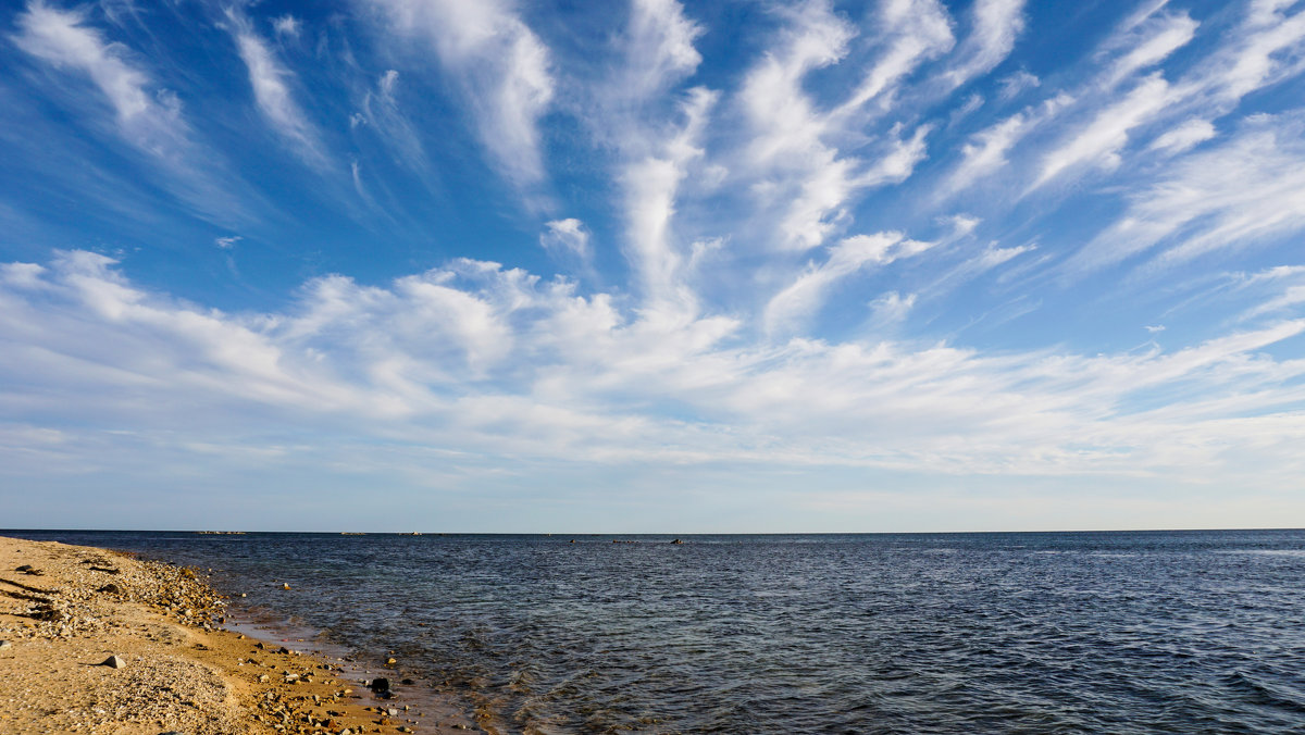 Полосатая облачность... - Арина
