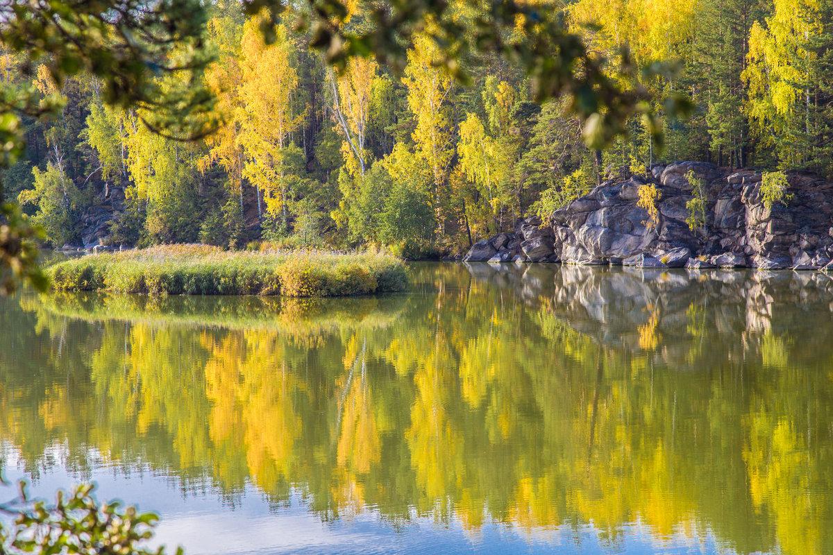 Осеннее отражение... - игорь козельцев