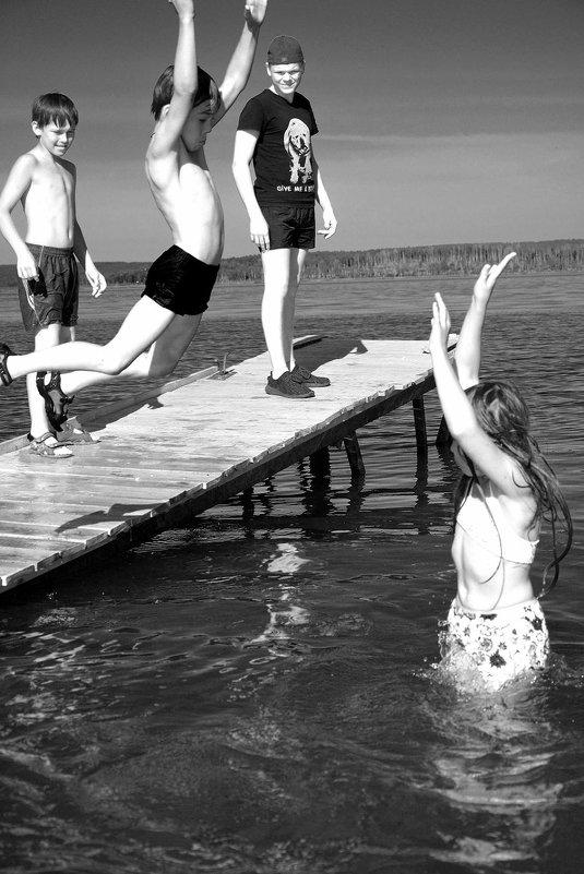 В прыжке.... - Дмитрий Петренко