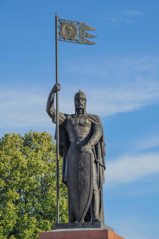 Памятник Александру Невскому в Малом Китиже - Сергей Тагиров
