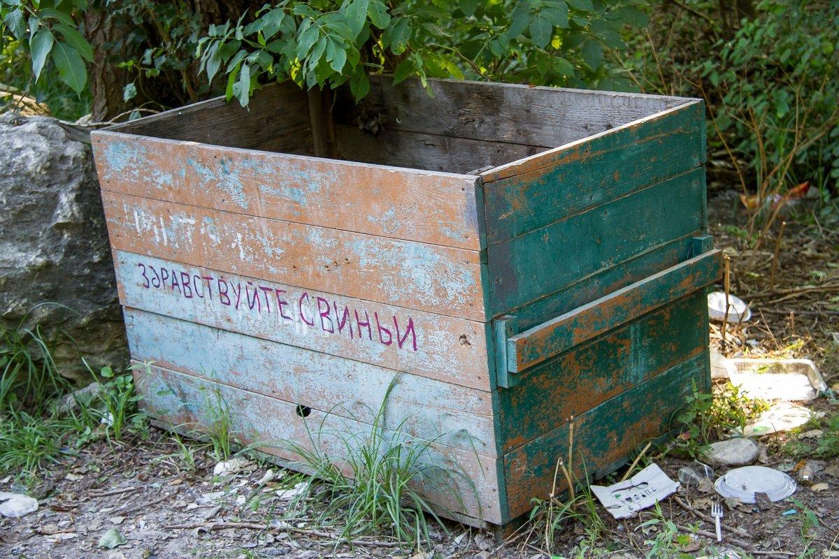 Просто ящик для мусора - Дмитрий Сиялов