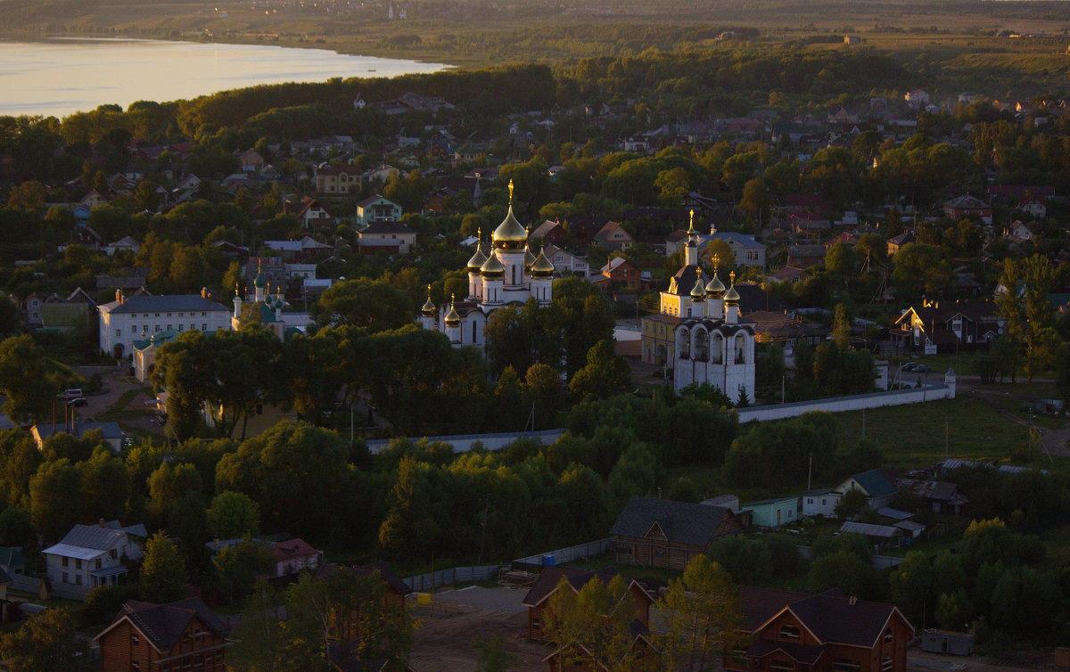"""""""""""""""Никольский монастырь из воздушного шара - Александра"""