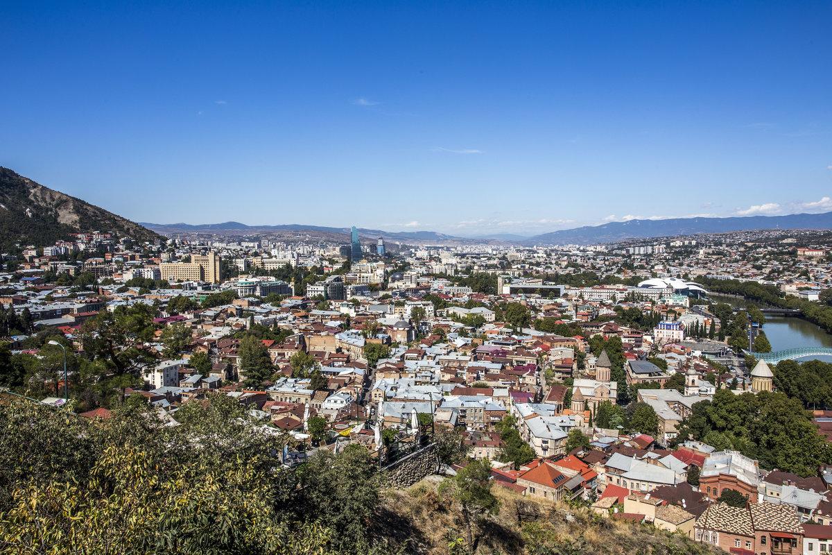 Тбилиси с горы - Лариса Батурова
