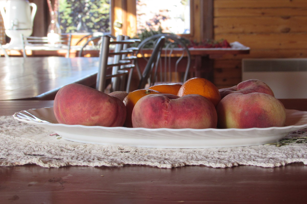 персики и мандарины - константин