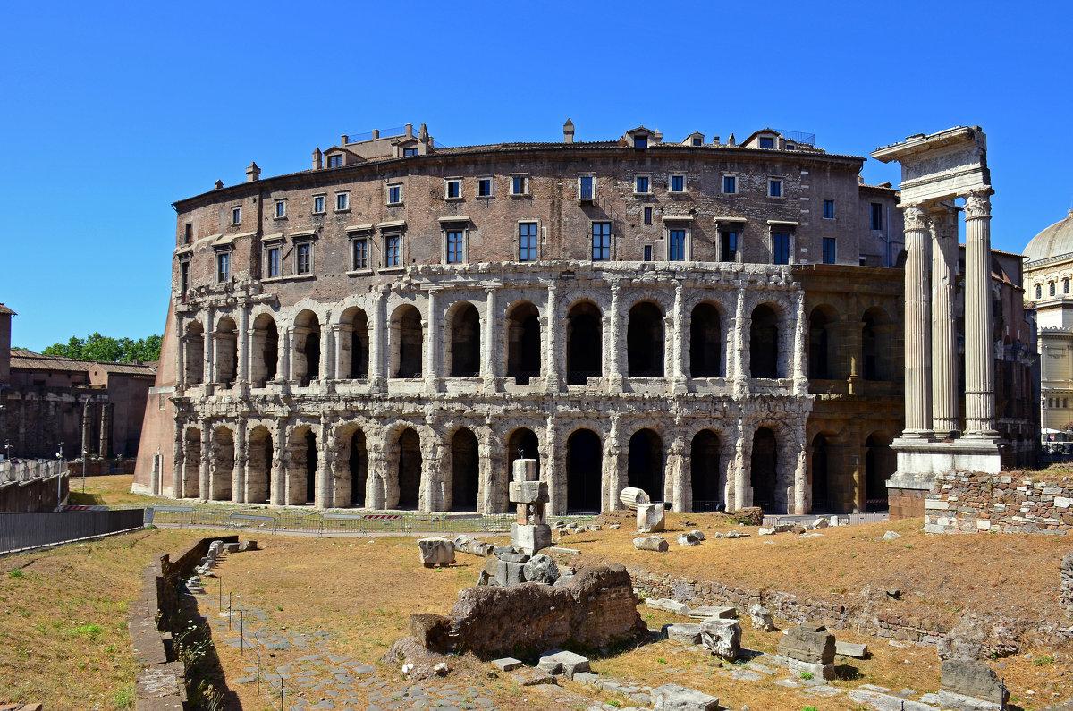 Вечный город Рим. Театр Тита - Николаева Наталья