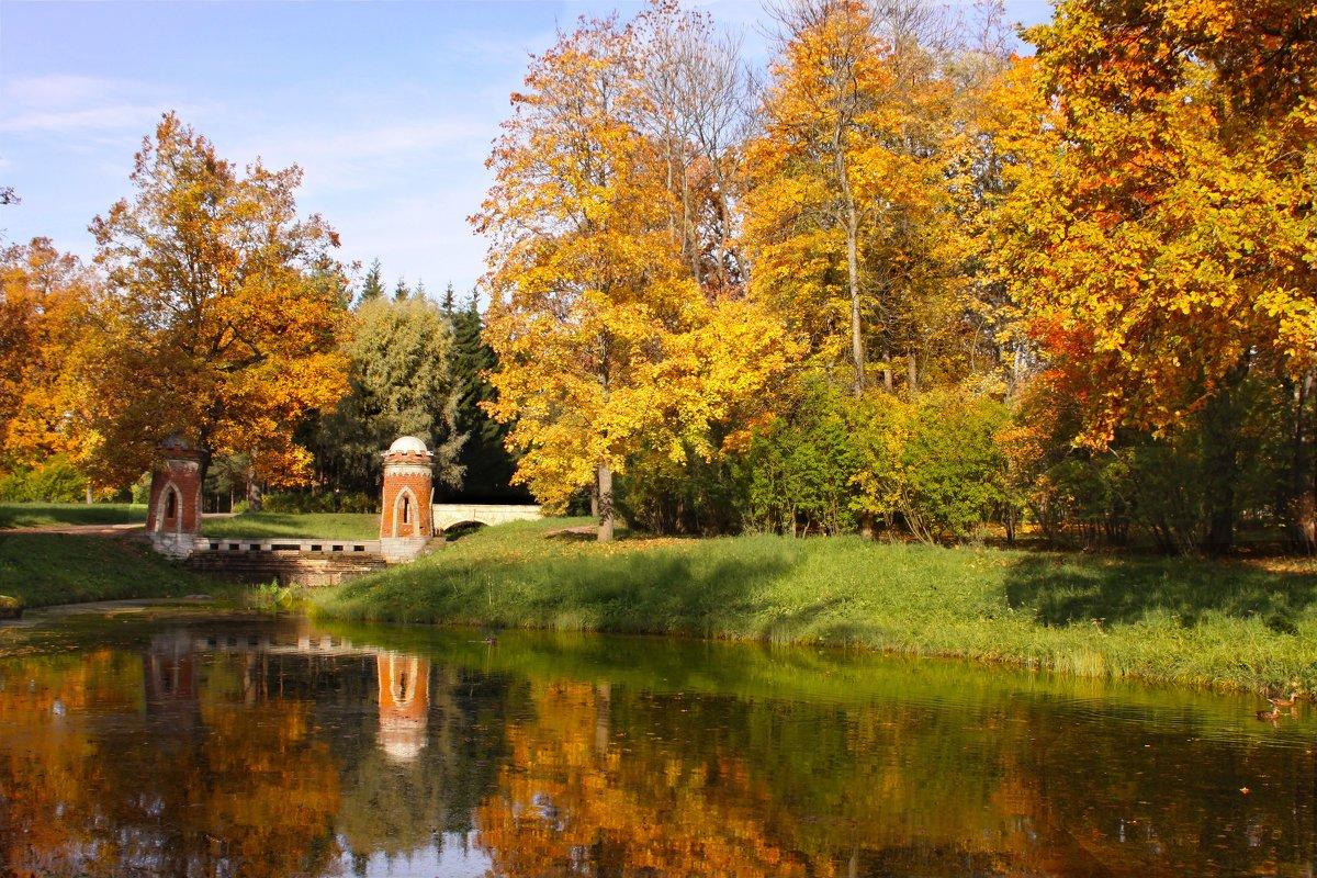 Регулярный парк Царского села - Наталья