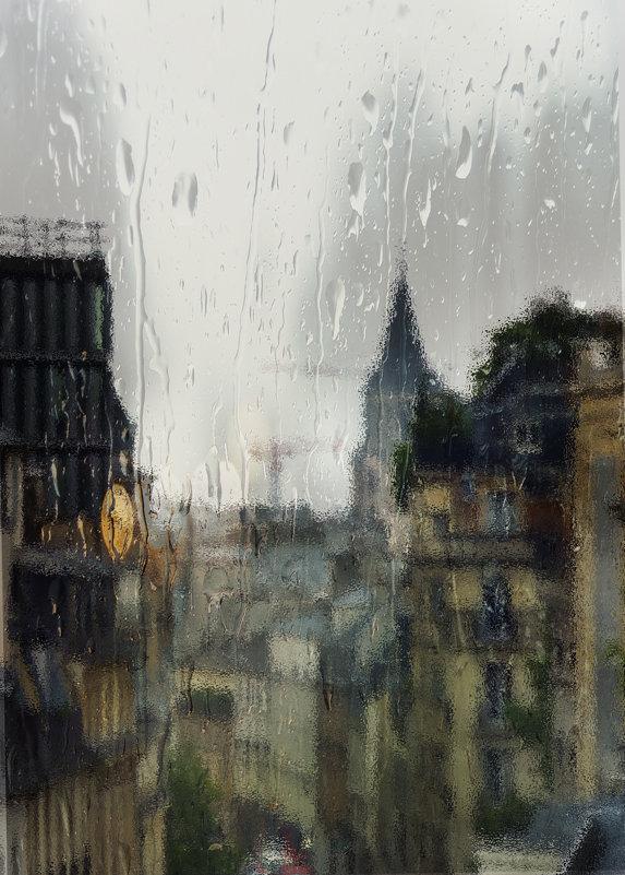 Paris sous la pluie - Valery
