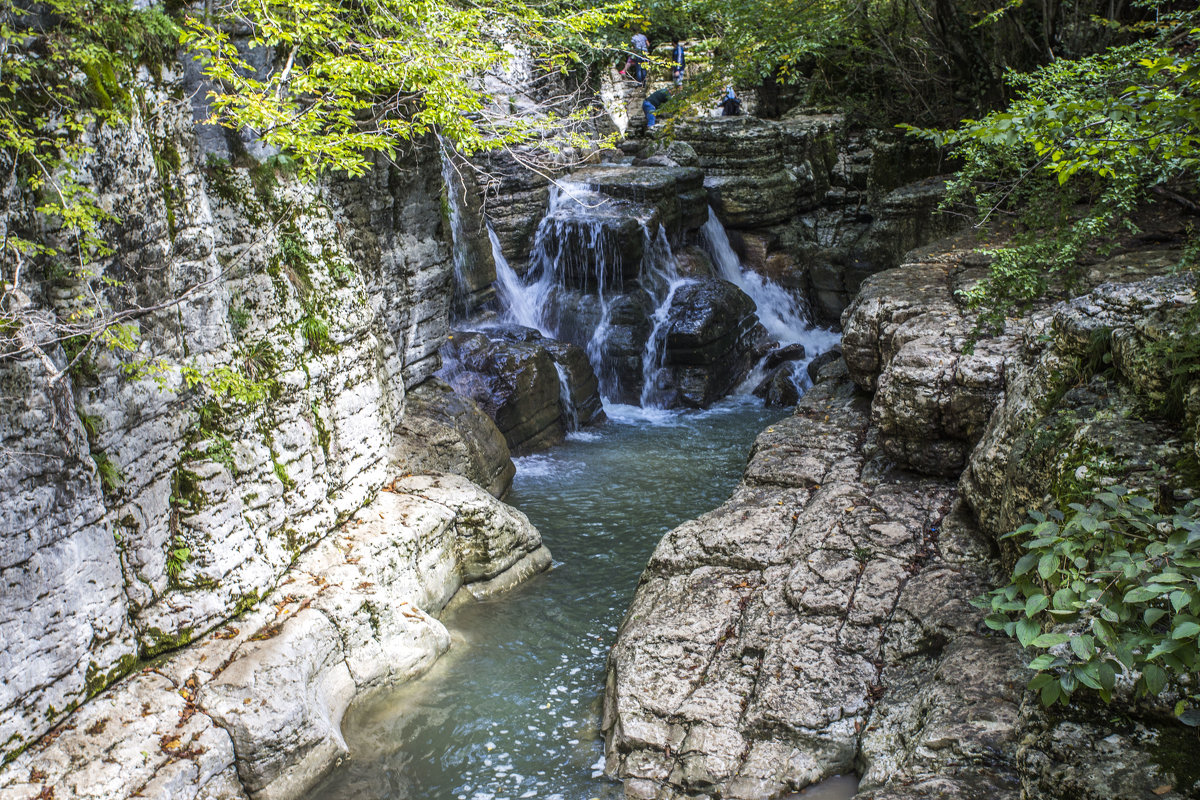 река Окаце, Грузия, Кутаиси - Лариса Батурова