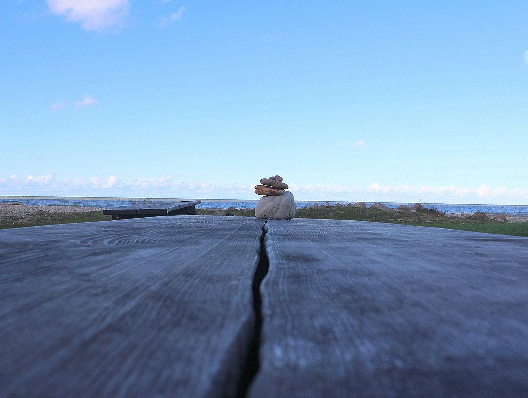 Маленькая пирамидка из камней в Тойла - Marina Pavlova