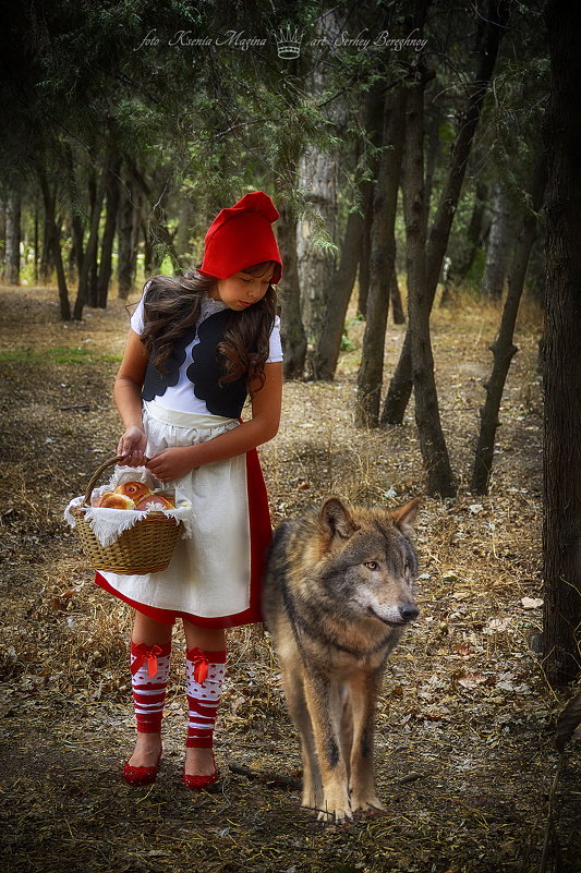 Красная шапочка и серый волк - Ксения