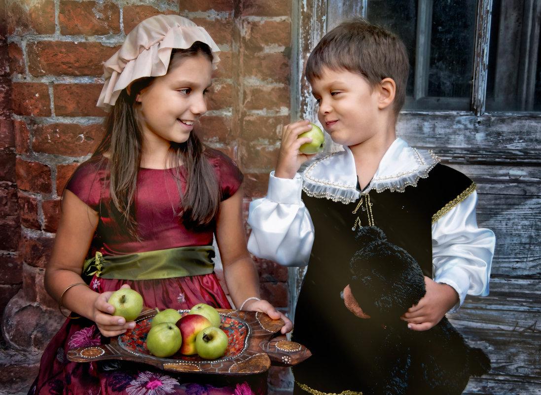 Яблочный спас в Покровское-Стрешнево - Нина