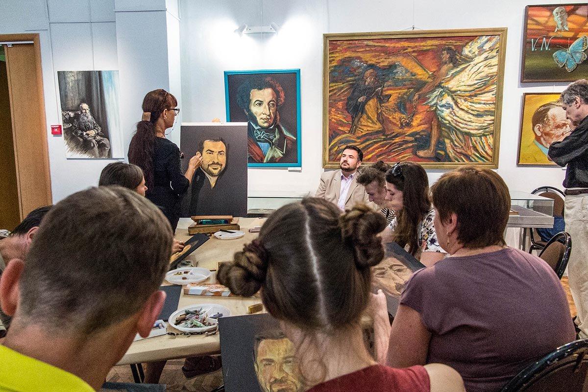 Класс живописи и программа как, что писать, искать и мыслить! - Ирина Данилова