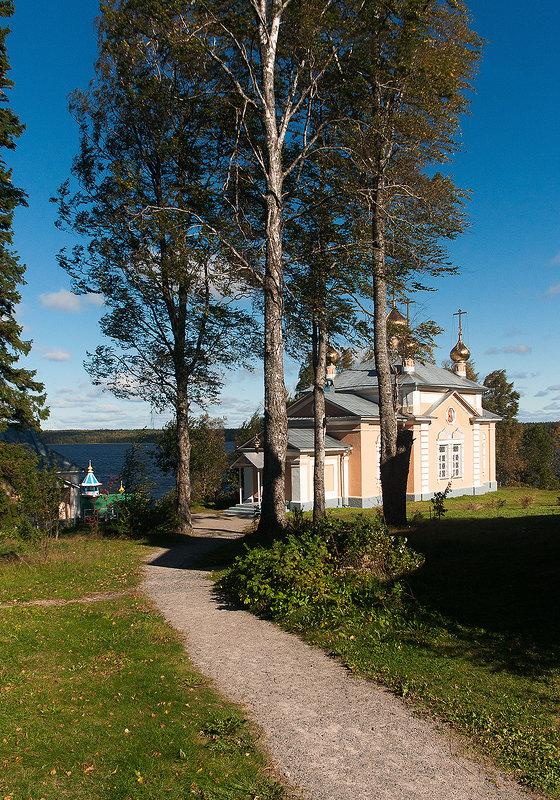 Важеозерский мужской монастырь. Карелия. - Николай Тренин