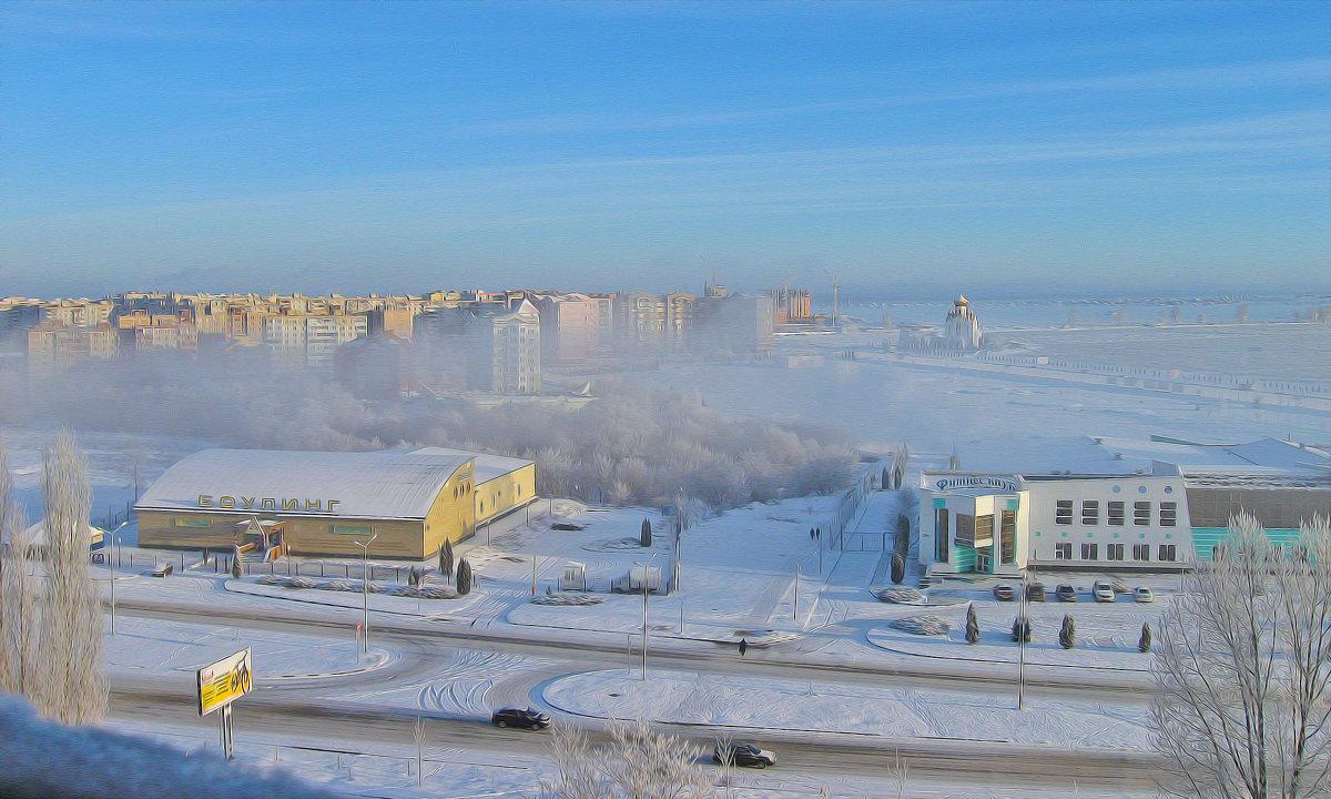 Зимнее утро - Мария Богуславская