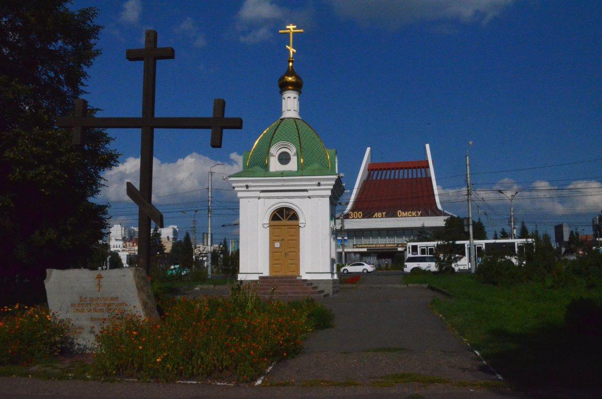 На этом месте находилась Ильинская церковь - Savayr