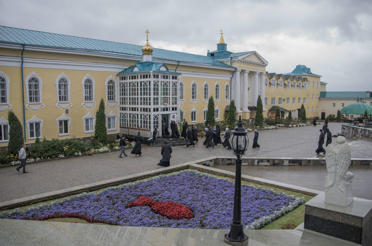 Задонский монастырь. - Яков Реймер