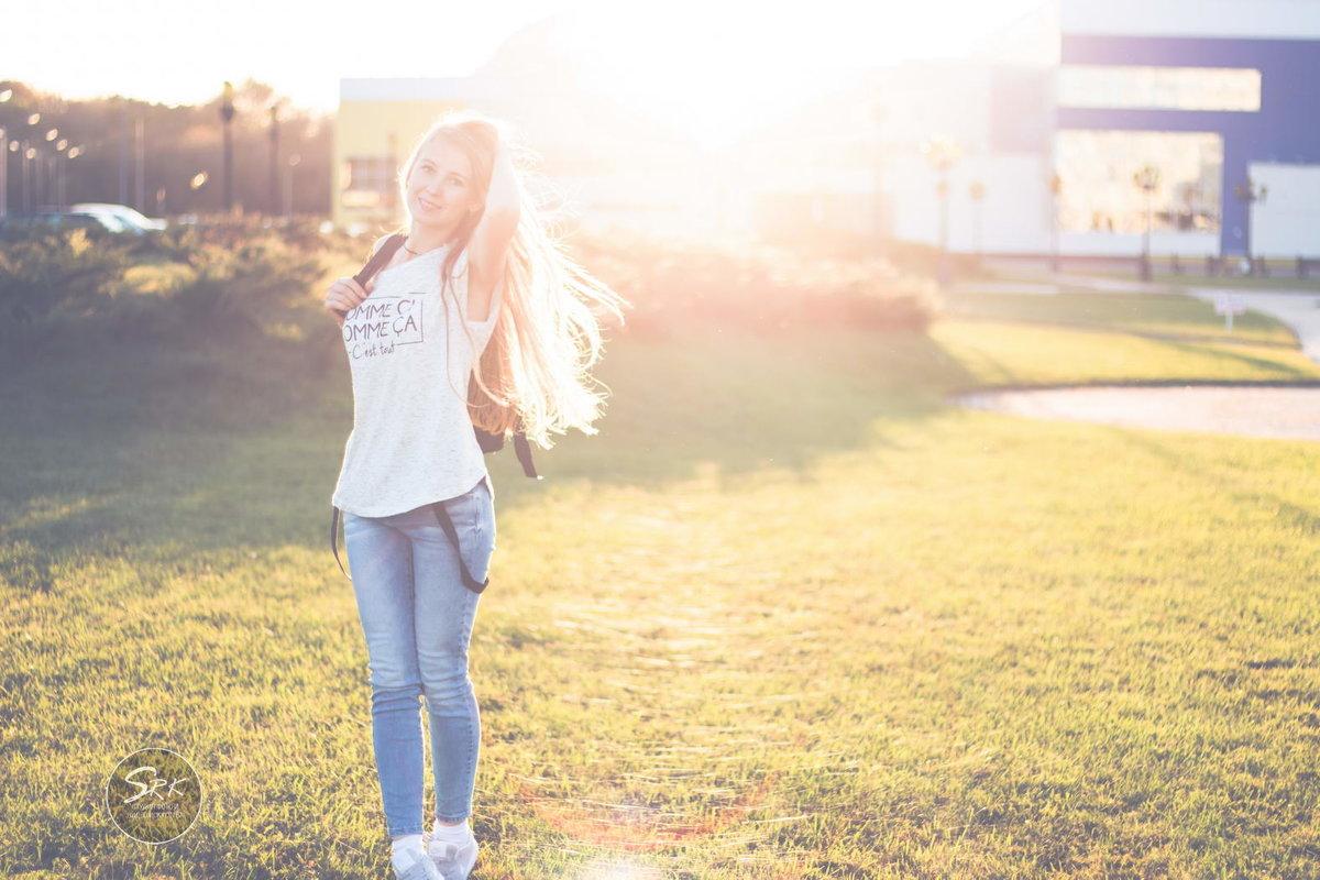IN the arms of the SUN. В объятьях солнца. Фотограф в Белгороде Руслан Кокорев. - Руслан Кокорев