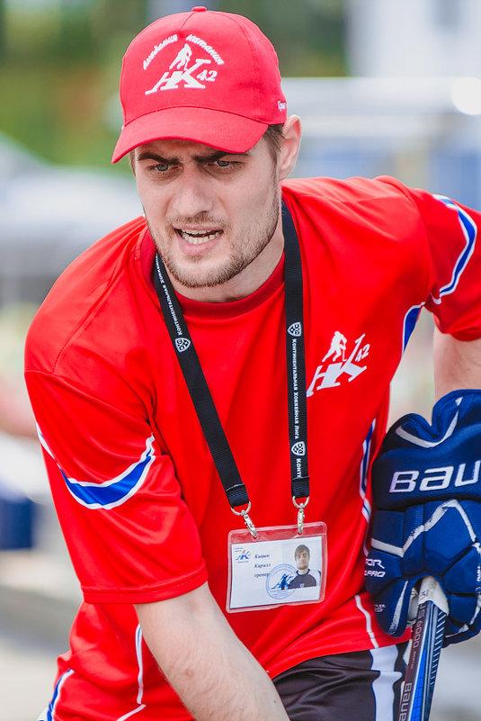 Тренер по хоккею - Александр Буслов