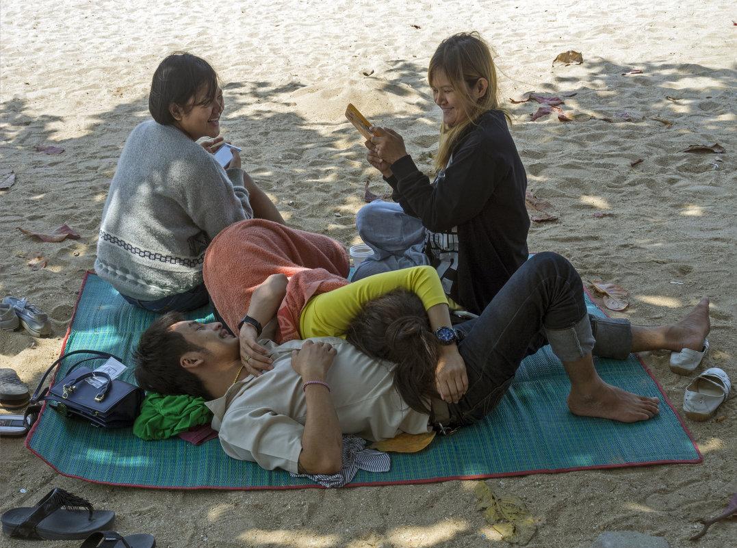 Таиланд. Паттайя. На пляже - Владимир Шибинский