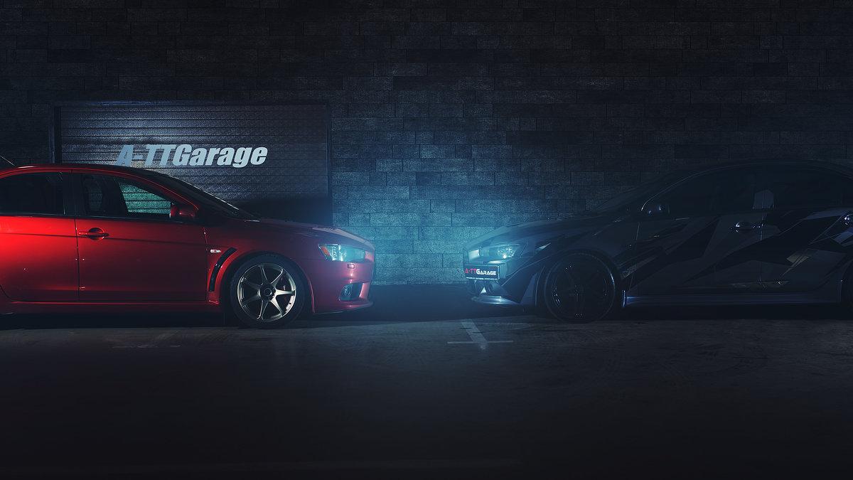 Реклама автосервиса - Artem Mihko