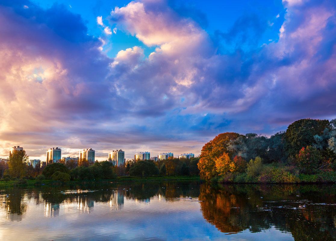 Закат на пруду - Дмитрий Батынин