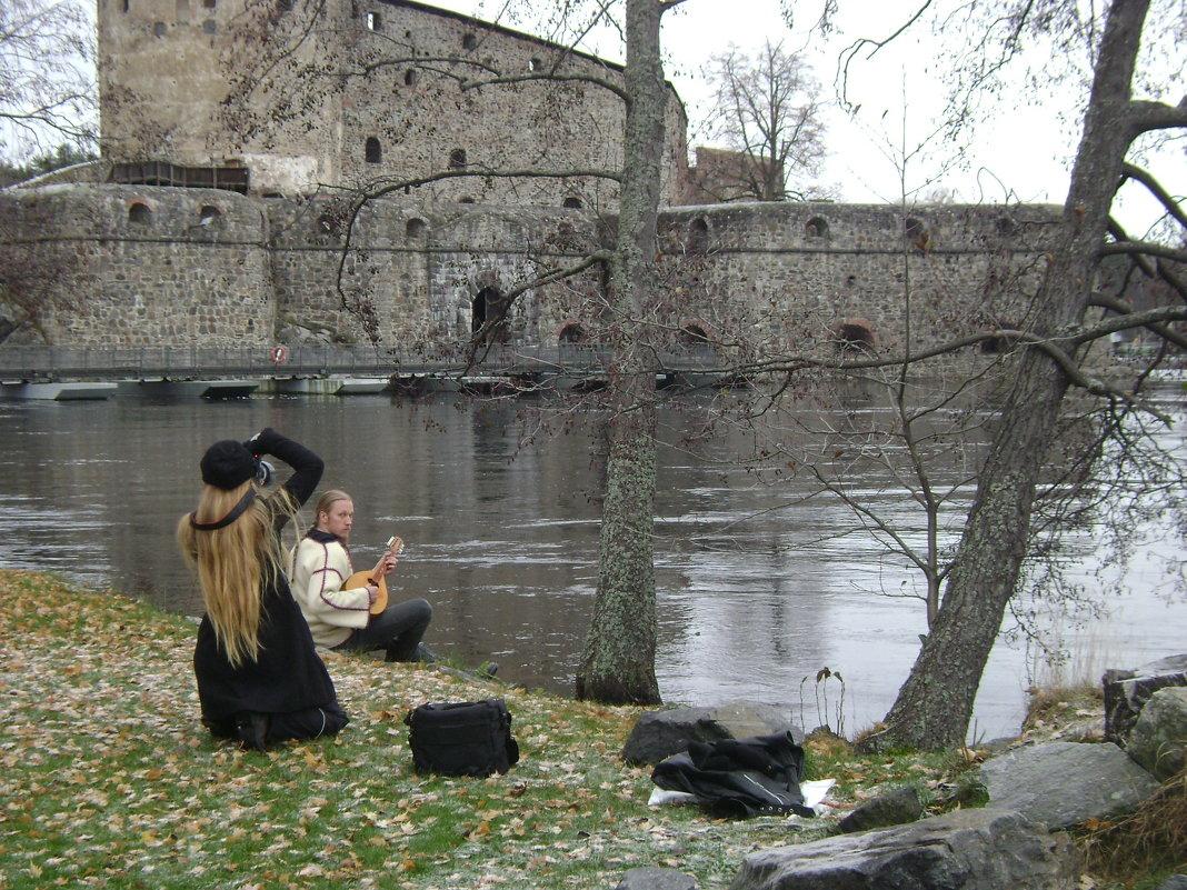 Фотосессия у старого замка - Марина Домосилецкая