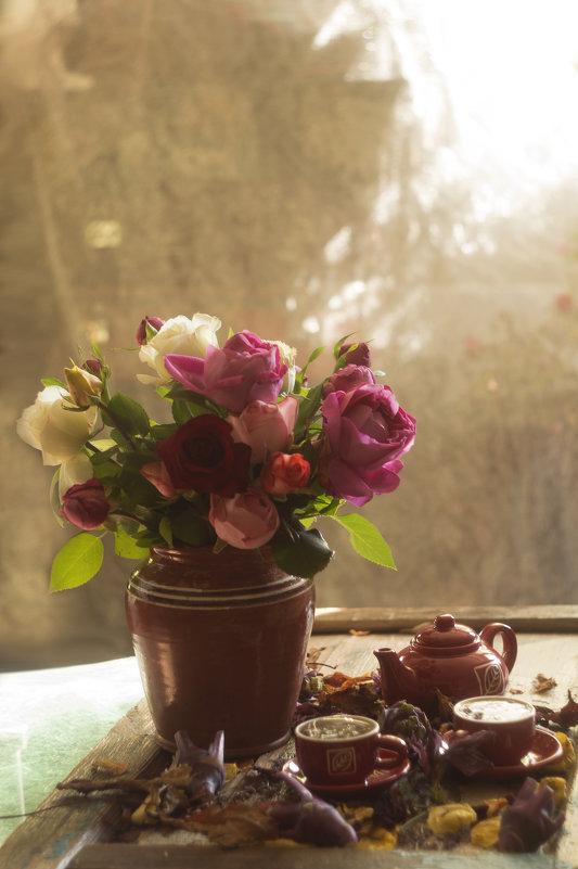 Розы к чаю - Вера Арасланова