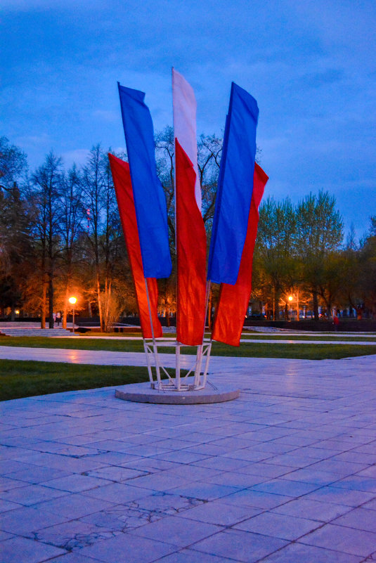 Флаг России - Света Кондрашова