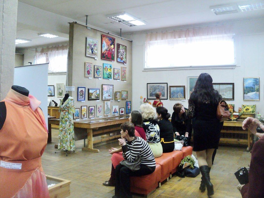 На выставке в Краеведческом музее г. Люберцы. - Ольга Кривых