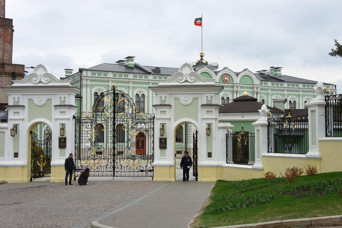 Комплекс Президентского дворца в Казанском кремле. Губернаторский дворец - Елена Павлова (Смолова)