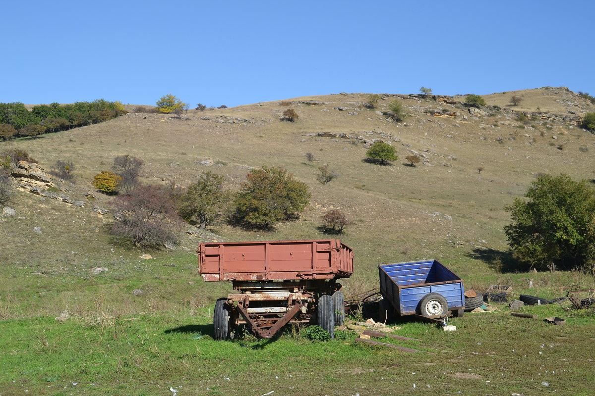 На ферме - Сергей