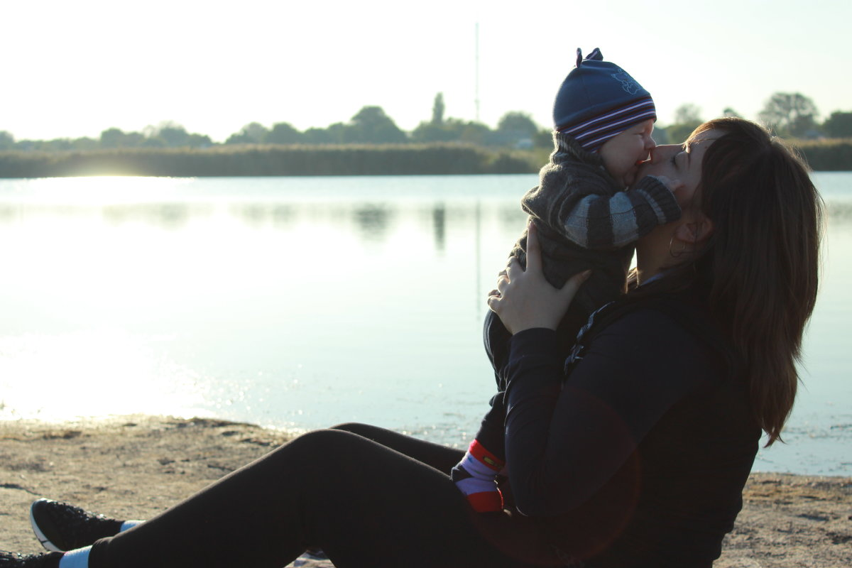 Молодая мамочка - Дарья