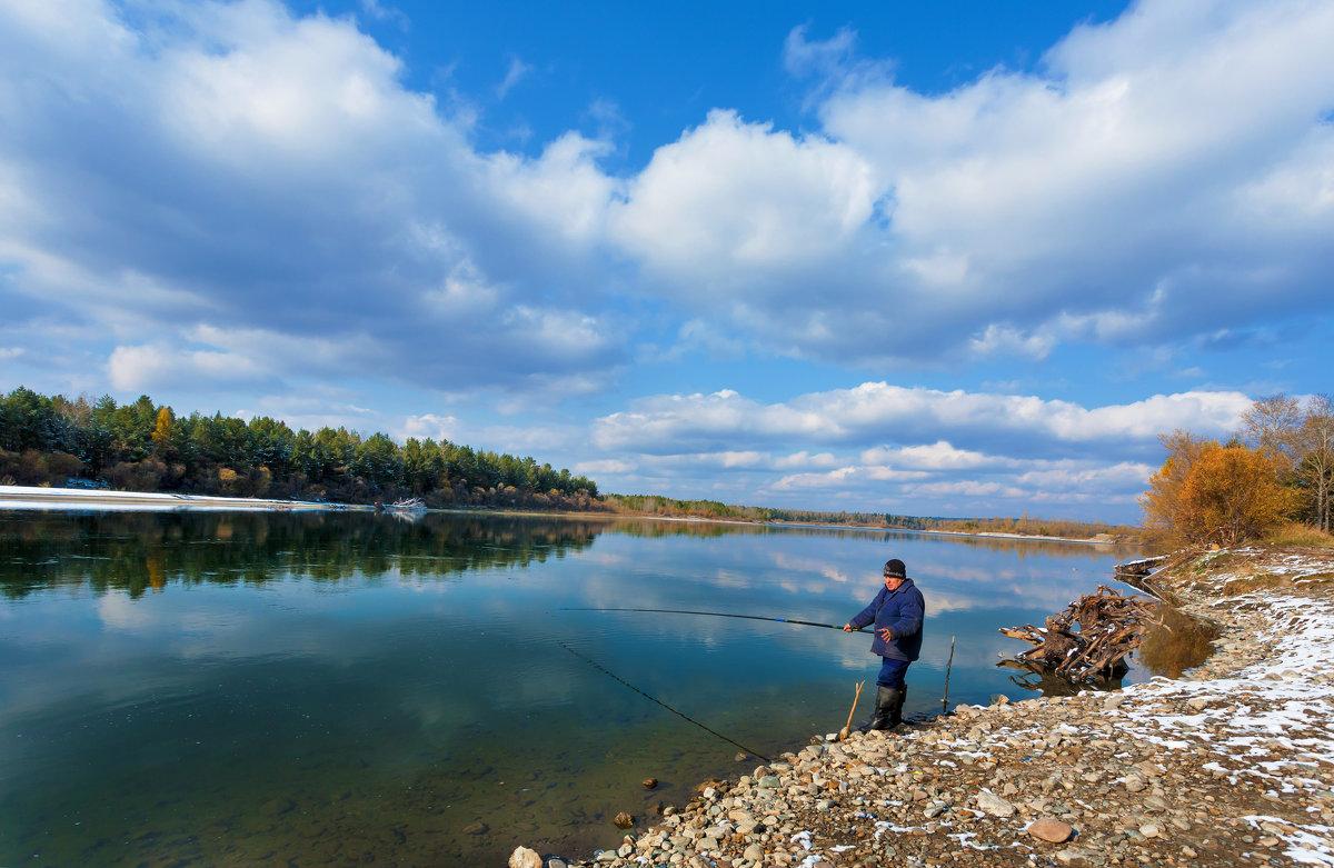 Осенняя рыбалка - Анатолий Иргл